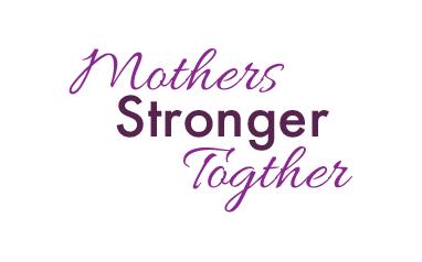 Mother's Stronger Together Logo